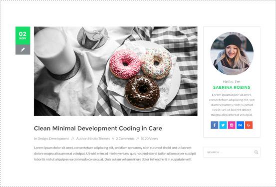 Advanced blogging
